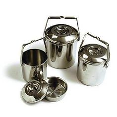 Zebra Stainless Steel Billy Can are still the best cook pots for camping