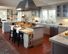 Traditional Kitchen Island Breakfast Bar Design, Pictures, Remodel, Decor and Ideas - page 4