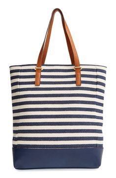 stripe tote / street level