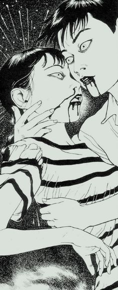 Laughing Vampire by Suehiro Maruo Japanese Horror, Japanese Art, Arte Horror, Horror Art, Nagasaki, Illustrations, Illustration Art, Vampire Illustration, Manga Gore