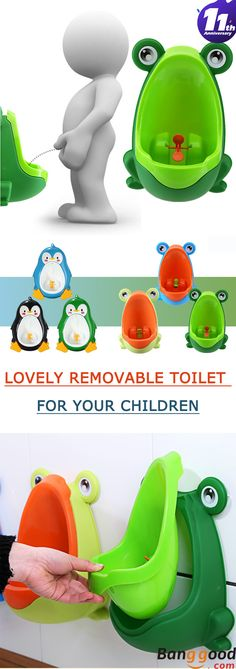 62%OFF. US$8.99  Free shipping. Kids' Removable Toilet. environmentally friendly material. 3 colors available.It could improves your babies' interest and trains they pee by themselves. For more information, please visit our website.