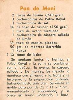 """""""Pal vientre, todo lo que entre"""": 2º Reto Laura Real: Pan de Maní"""