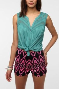 Ecote Layers of Lace Tank Top