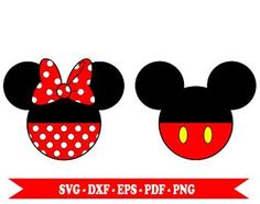 Image result for Minnie and Mickey Free SVG Disney Photo Frames, Minnie Mouse, Disney Characters, Image, Free, Tattoo