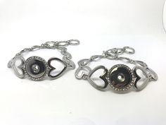 Love Heart Bracelet, T-Bar adjustment £8.50