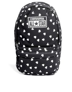 Converse | Converse Mini Backpack in All Over Heart Print