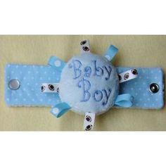 In The Hoop :: Baby & Children :: Baby Wrist Rattles - Embroidery Garden In the Hoop Machine Embroidery Designs