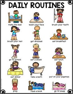 Kids Discover Thematic Vocabulary Posters - 20 Visual Posters of Vocabulary for Beginning ELLs Learning English For Kids, Kids English, English Lessons, Kids Learning, French Lessons, English Style, Spanish Lessons, Teaching Spanish, Teaching Kids