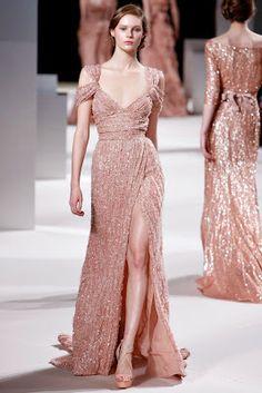 Elie Saab - Diseñador Favorito  Spring 2011 Cotoure Collection Style.com