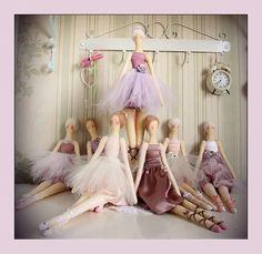 Tilda bailarina con patrones