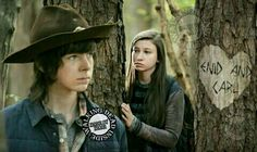 The Walking Dead, Memes, Carl Grimes, Enid Walking Dead Funny, The Walking Dead 3, Carl E Enid, Katelyn Nacon, Chandler Riggs, Carl Grimes, Gifts For Brother, 3 I, Famous People