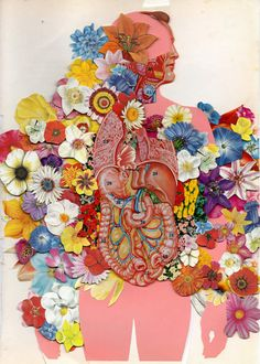 Illusion: The collage art of Ben Giles.     http://illusion.scene360.com/art/32387/flowered-anatomy/