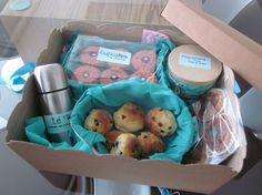 Caja - desayuno de Mónica Iglesias / Breakfast - box from Mónica Iglesias