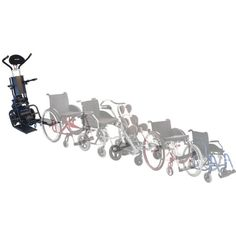 Graphic Shows the Different Kinds of Wheelchairs the LG2030 Accommodates