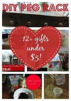 Frugal Gift Guide: more than a dozen Gifts Under$5. There is something here for every occasion.