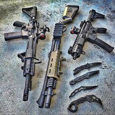Military Weapons, Weapons Guns, Guns And Ammo, Zombie Weapons, Gun Vault, Armas Ninja, Sig Sauer, Cool Guns, Assault Rifle