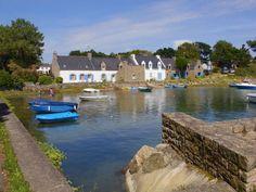 Maisons du Vieux-Passage, Rivière d'Etel, Morbihan  Brittany