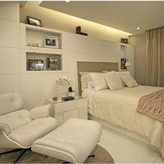 Perfect #dormitório #coresclaras #decoração #decor #interiores