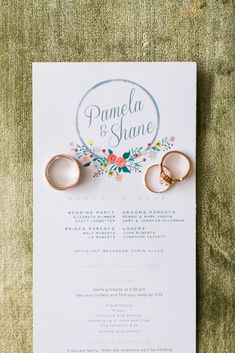 Wedding Stationery - An Intimate Wedding Full of Rustic Vintage Elegance