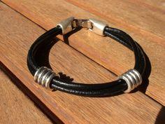 Pulseras brazalete, brazalete de joyería, pulsera brazalete de plata, pulseras para hombre, pulseras para hombre, pulseras de cuero de mens, mens pulsera