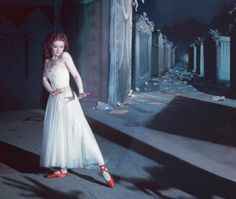 Moira Shearer in The Red Shoes (Powell & Pressburger, 1948)