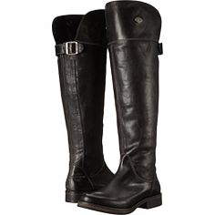 78777ed432b Harley-Davidson Claire Women's Zip Boots, Black (£54) ❤ liked on ...