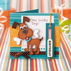 I like the sentiment for a dog card.