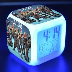 Back To Search Resultstoys & Hobbies Candid The Legend Of Zelda Digital Alarm Clock 3d Game Action Figure Toys 7 Color Led Nightlight Cube Desktop Clock For Kids Gift