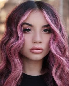 Pink Hair Dye, Hair Color Pink, Dyed Hair, Ombre Hair, Teen Hair Colors, Hair Dye Colors, Gorgeous Hair Color, Cool Hair Color, Hair Color Images