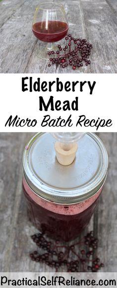 Small Batch Elderberry Mead Recipes -Jellies Fermenting Canning Elderberry recipes Elderberry Recipes, Elderberry Syrup, Elderberry Ideas, Fermentation Recipes, Homebrew Recipes, Mead Wine, Mead Recipe, Real Food Recipes, Vinegar