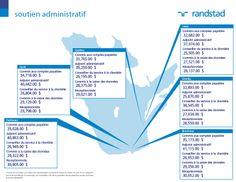 #Salaires #2014 Rémunération #Canada #Emploi Métier Soutien Administratif. Découvrez d'autres salaires sur: http://content.randstad.ca/guide-salaire-2014