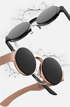 apple glasses, according to taeyeon kim, will be two watch-shaped lenses with space grey and rose gold finishes.