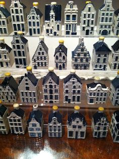 Is there anybody out there who does NOT collect Delft blue KLM houses..? You get them when traveling business class with KLM.