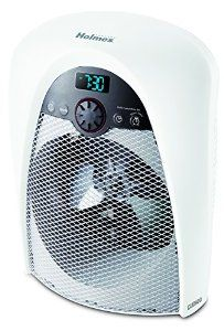 Amazon.com - Holmes Digital Bathroom Heater Fan with Pre-Heat Timer and Max Heat Output, HFH436WGL-UM - Space Heaters