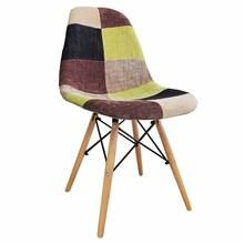 Cadeira Charles Eames Dkr Design Patchwork FW070F Pelegrin walmart 389,90 ou 5x77,98