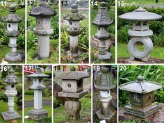 how to make a concrete japanese lantern - Google Search
