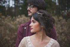 7 Beautifully Boho-Inspired Winter Wedding Hairstyles | Pink and Milk