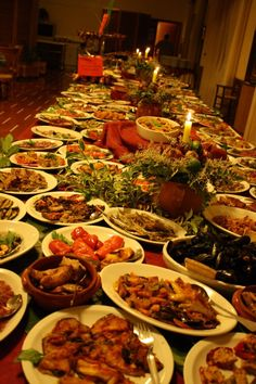 """Buffet of Calabria Evening in """"La Bussola"""" hotel restaurant once a week. www.albergolabussola.com The cream of Calabrian gastronomy"""