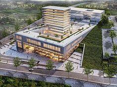 City Hall Architecture, Architecture Site Plan, Architecture Durable, Hospital Architecture, Cultural Architecture, Concept Architecture, Futuristic Architecture, School Architecture, Sustainable Architecture