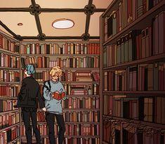 [commission] - yoonmin library date for Eliza Yoonmin Fanart, Namjin, Taekook, Guys My Age, Bts Drawings, Yoongi, Bts Fans, Kpop Fanart, Fujoshi