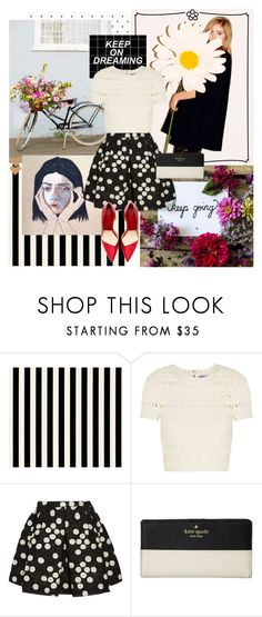 """""""Untitled #140"""" by fashionably-late ❤ liked on Polyvore featuring Hervé Léger, Giambattista Valli and Kate Spade"""