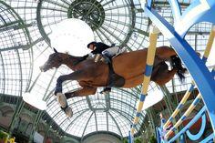 Saut Hermes at the Grand Palais.