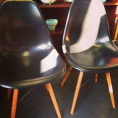 Mid Century Chairs.  Really Super!