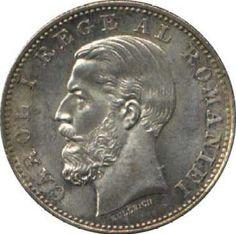 1 leu 1885 Bucharest, Silver Bars, Coins, My Love, Home, Rooms