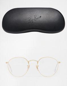 Ray-Ban | Ray-Ban – Runde Brille aus Metall bei ASOS