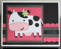 Scrappin' 2 Little Princesses: Have A Moo-Velous Day!!