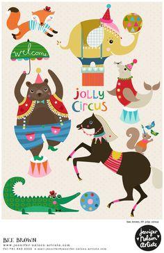 Jolly Circus ala Bee Brown!