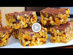Cheerios Chocolate Bars - Video Recipe