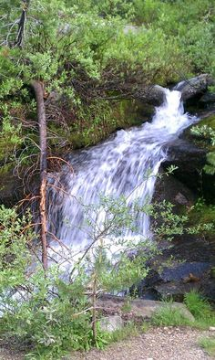One of the many waterfall s we saw.