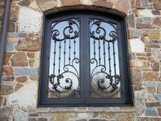 Iron Windows, Windows And Doors, Burglar Bars, Window Grill Design, Wrought Iron, Art Nouveau, Digital Prints, Home Goods, Clock